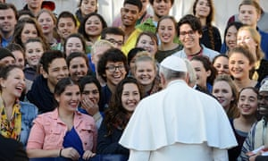 The Papal Audience in San Peter's Square.