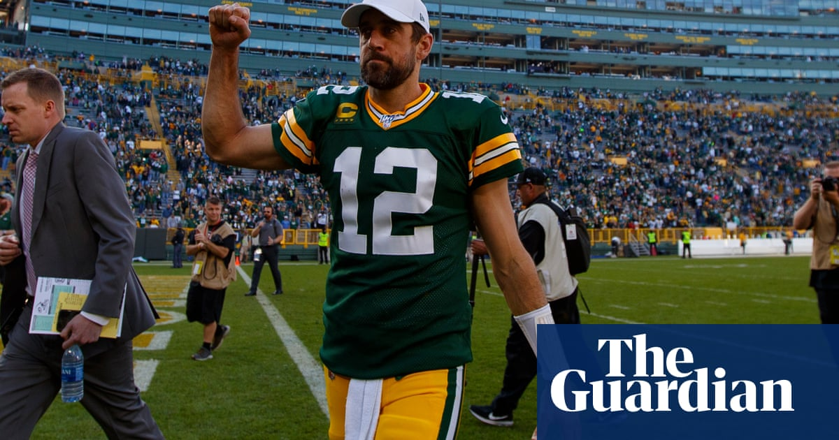 Six TDs and 429 yards in one game. Let's check whether Aaron Rodgers is past it