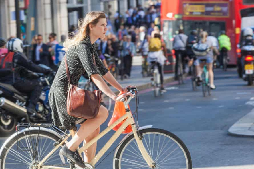 One study showed that motorists tend to give female cyclists more room than males when overtaking.