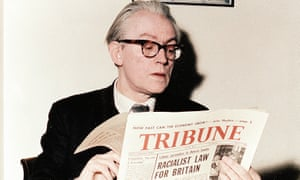 Michael Foot, the former Labour party leader and editor of Tribune newspaper