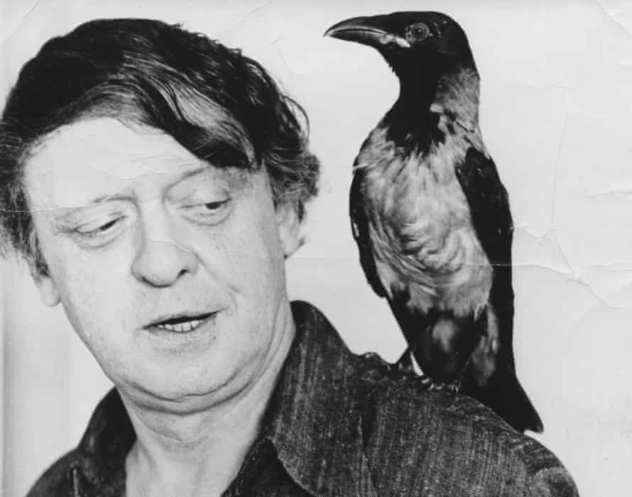 Judge pornography by literary merit … Anthony Burgess and friend in Malta.