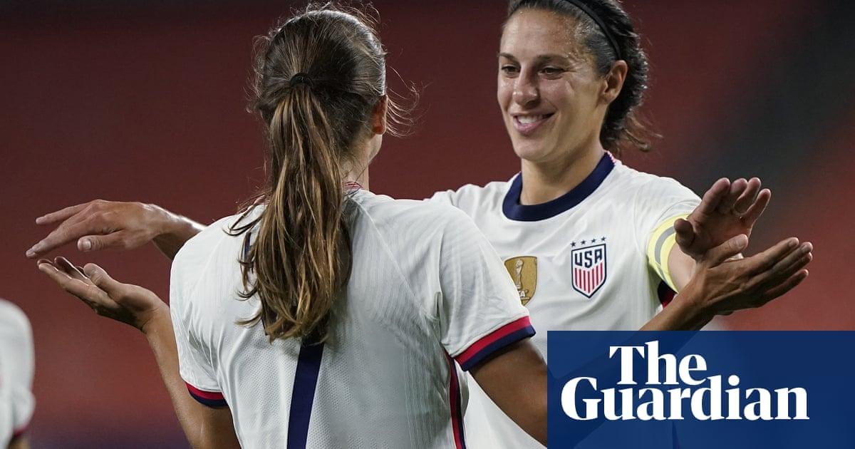 Carli Lloyd scores five goals as USA women hammer eight past Paraguay