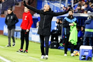 Abelardo Fernández during a game earlier this month.