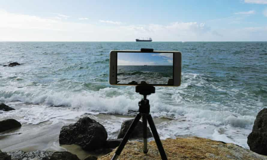 Putting your smartphone on a tripod for steady, level video is the first step towards better footage.