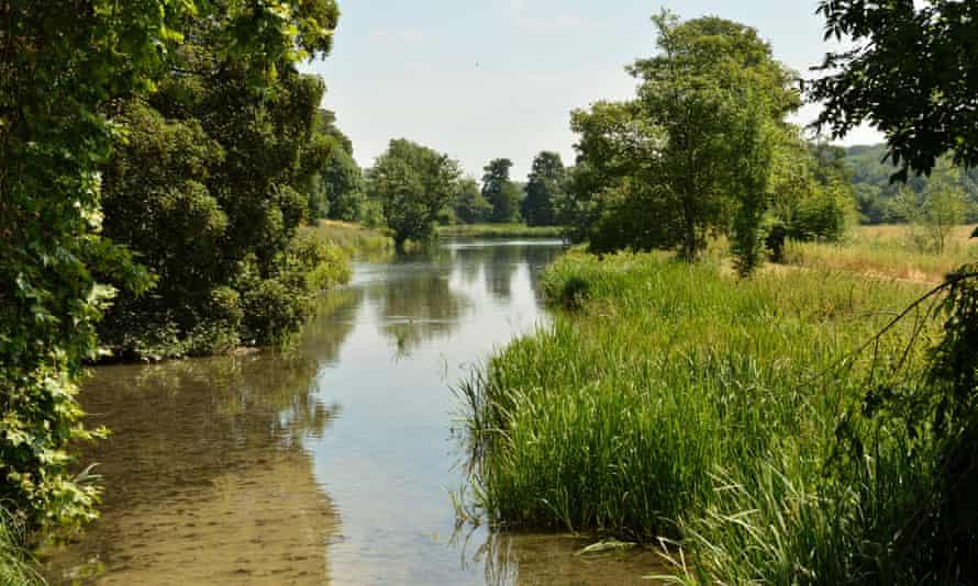 River Chess, near Latimer, in Hertfordshire.