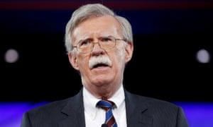 Donald Trump named John Bolton as his new national security adviser on Thursday.