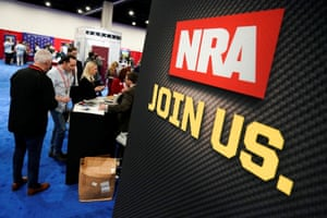The NRA is registered as a not-for-profit organisation in New York.