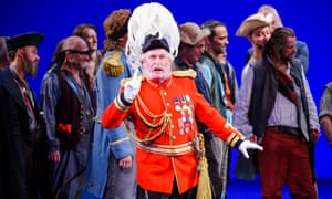Andrew Shore as Major-General Stanley in The Pirates Of Penzance in an English National Opera production.
