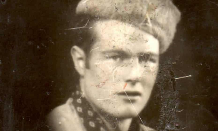 Spanish civil war British fighter Johnny Longstaff in Catalonia.