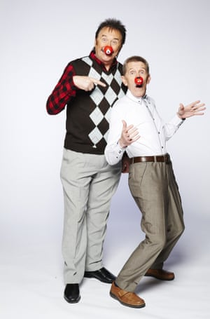 The Chuckle Brothers perform 'Who's got what it takes to be a National Treasure' sketch for Comic Relief, 2015