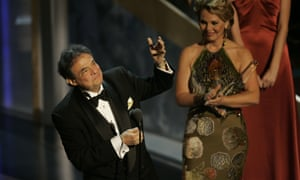 Mexican singer Jose Jose accepts his award during the 6th Annual Latin Grammy Awards show in Los Angeles in 2005.