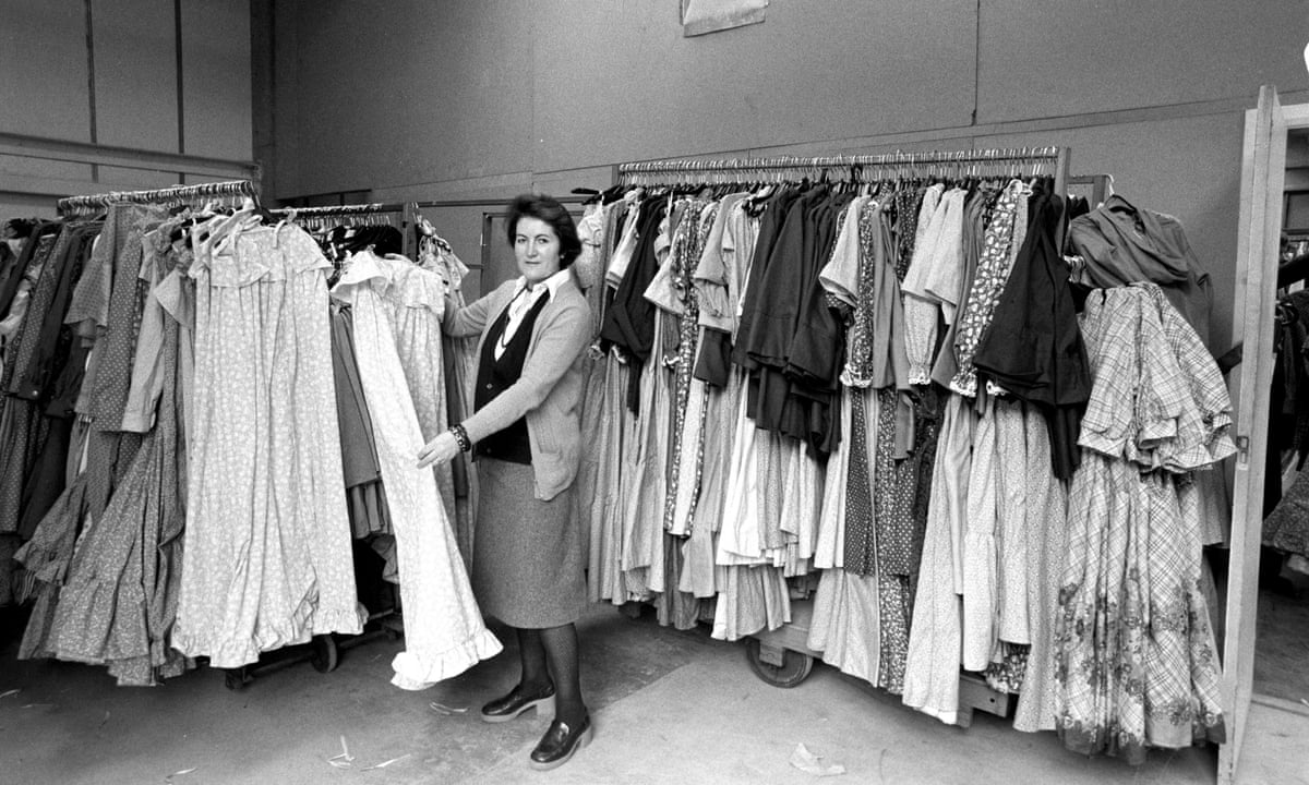 How The Florals And Frills Of Laura Ashley Came To Define An Era Business The Guardian