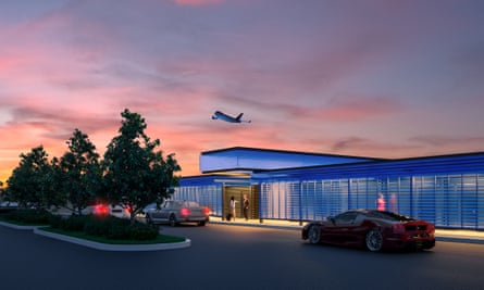 Annual membership of the private terminal costs $7,500 plus hefty fees for each flight.