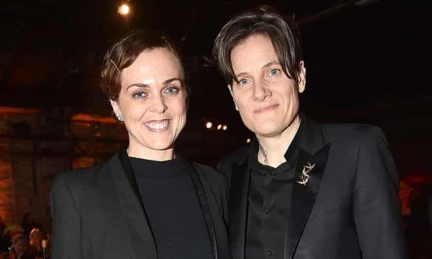 With her partner Siri Olsen, 2018.