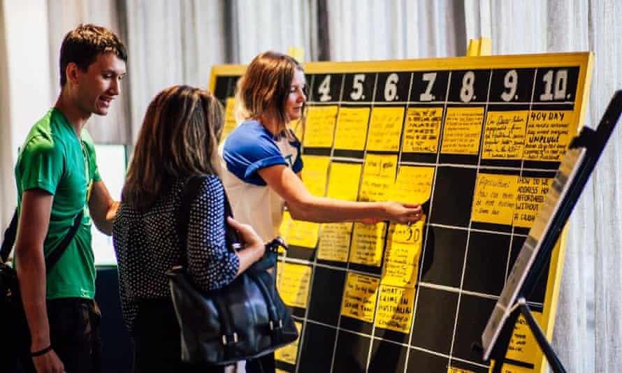 Junket conference in Canberra, 2015