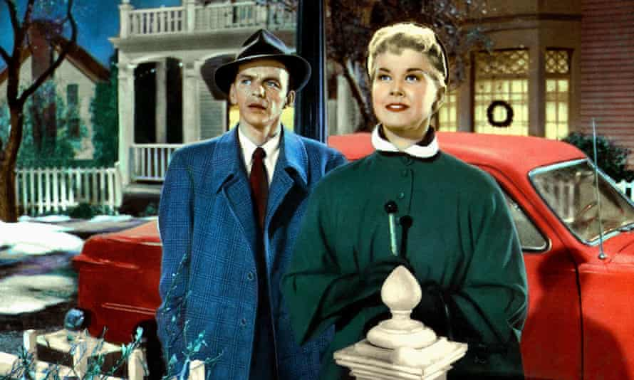 Doris Day with Frank Sinatra in Young at Heart , 1954. He was all scowls, she all smiles.