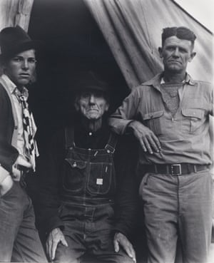 'Her form of reportage is nothing less than portraiture': Three Generations of Texans, now Drought Refugees (c1935)