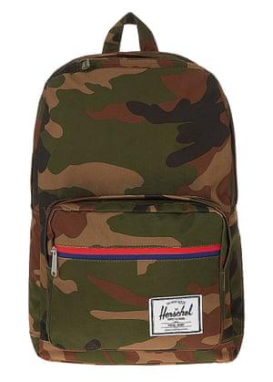 Bag, £80, Herschel selfridges.com