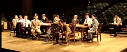 The show goes on … Twelve Angry Men