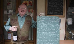 Le Sancerre owner Jean-Louis Guillaume; 37 years into the job and counting.