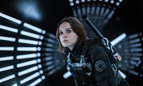 Felicity Jones in Rogue One.
