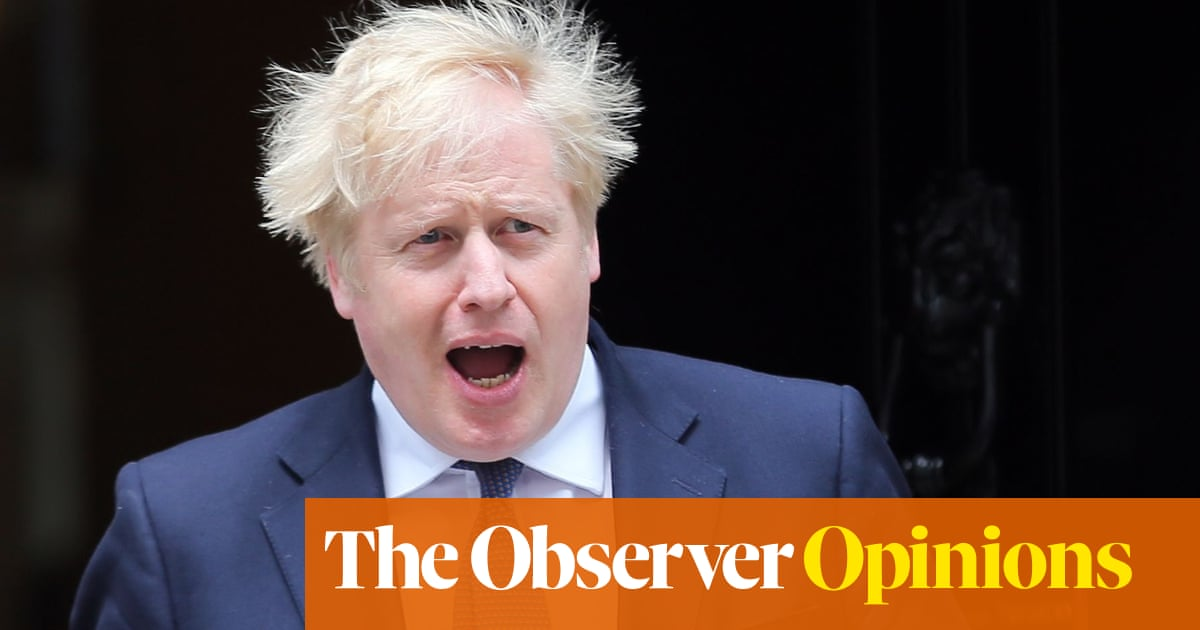 Tories made a Faustian bargain when they gave us this lord of misrule