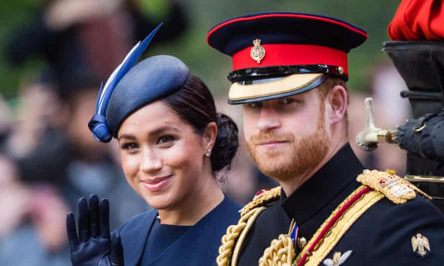 The Duke and Duchess of Sussex.