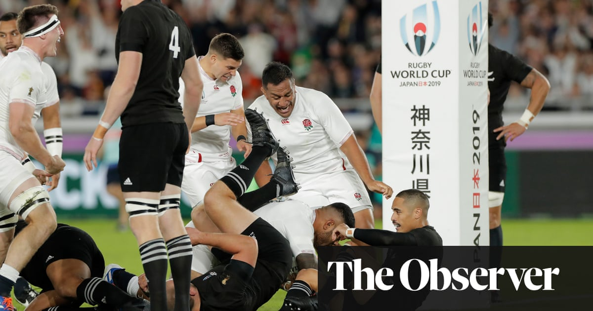 We've beaten the god of rugby but we still must improve, says Eddie Jones