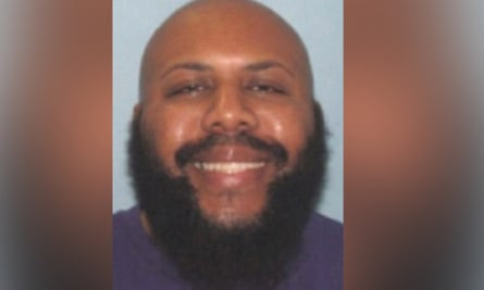 A photo provided by Cleveland police of Steve Stephens, a suspect in the killing of a man that was broadcast on Facebook Live.