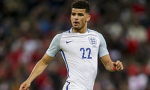 Dominic Solanke has impressed for England Under-21s