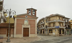 Grottaminarda, Italy, where Claire Martin died in 2012.
