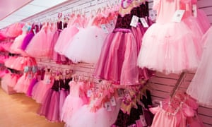 A New York shop filled with pink dresses