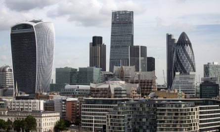 London skylne ... but this idea to turn Britain into a tax haven may not be a very brilliant one. Photograph: Simon Dawson/Bloomberg via Getty Images