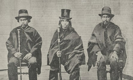 Mapuche chiefs were subject to military 'pacification' campaigns in the 19th century but have always maintained their spirit of independence.