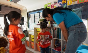 The school teaches reading, writing, maths and science; the children also receive emotional support to help them cope with the challenges they face.