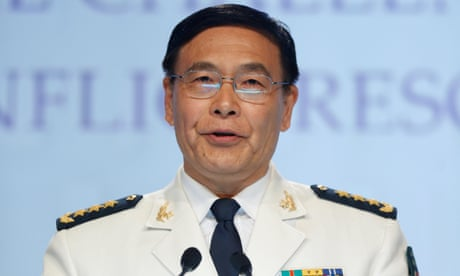 South China Sea: 'We have no fear of trouble,' Chinese admiral warns