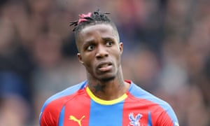 Crystal Palace do not want to sell Wilfried Zaha.