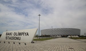 Baku's Olympic Stadium has not been a popular choice with supporters