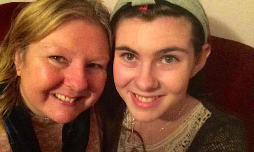 Shannon Quinn with mother Anne Quinn.