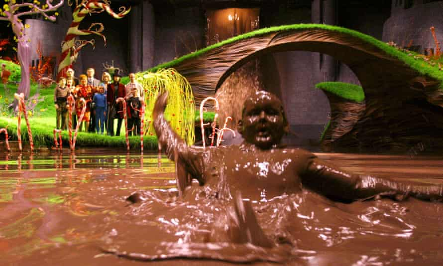 Philip Wiegratz as Augustus Gloop in the 2005 film version of Charlie and The Chocolate Factory
