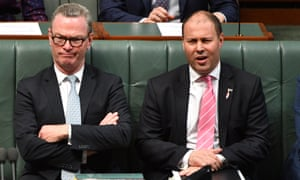 Treasurer Josh Frydenberg (R) is continuing to push for Australia to move its embassy in Israel to Jerusalem, while Christopher Pyne (L) has floated the idea of two diplomatic presences in the fraught territory.