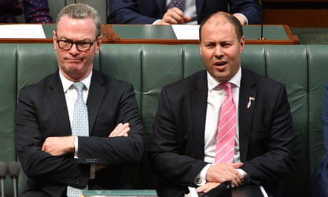 'Legend in his own lunchtime': Frydenberg rebukes Pyne over Israel embassy comments