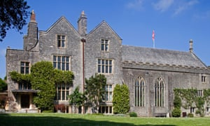 Dartington Hall, the estate where High Cross House is located.