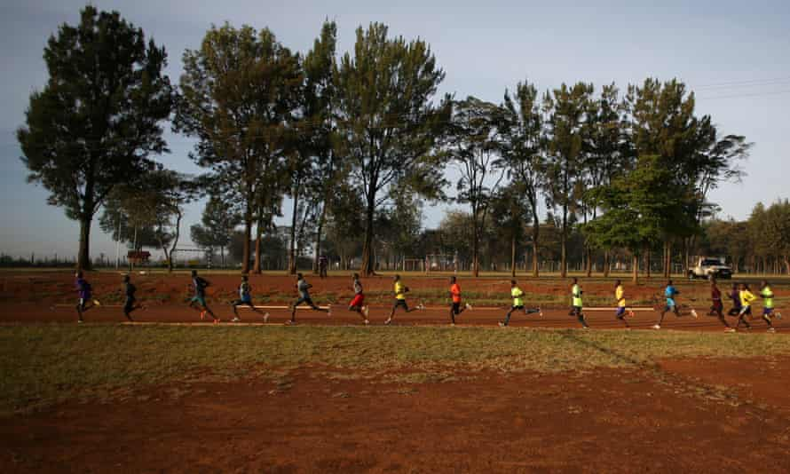 At an altitude of 7,000ft Eldoret in western Kenya is an ideal location for runners to build endurance and stamina.
