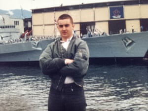 Skinhead days: Tony McAleer in his youth.