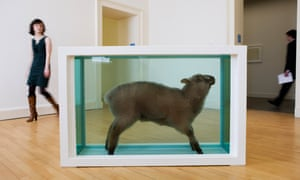 Damien Hirst's Away From the Flock