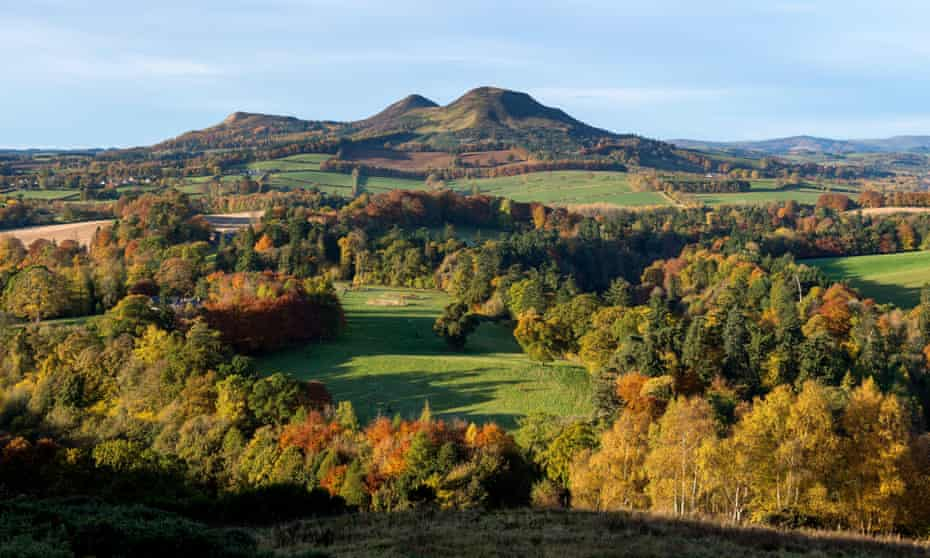 Scott's View in the Scottish Borders