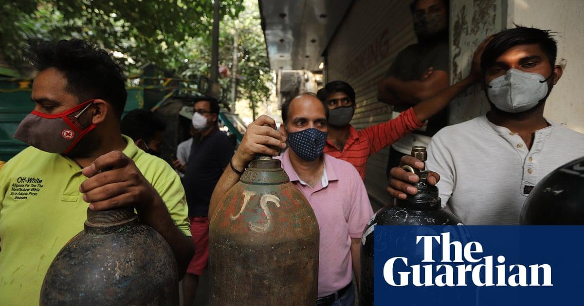 'People phone up pleading': the volunteers battling India's oxygen crisis