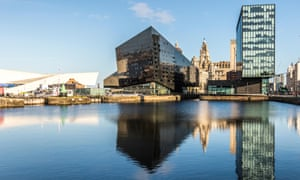 The Open Eye Gallery, Mann Island, Liverpool.