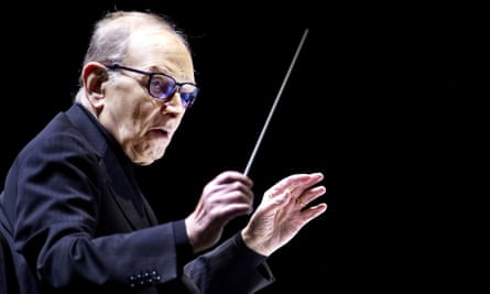Ennio Morricone, who turned 90 on Saturday.